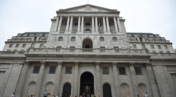 The Bank of England is expected to hold interest rates at 0.75% once more as Brexit uncertainties reach their peak (Kirsty O'Connor/PA)
