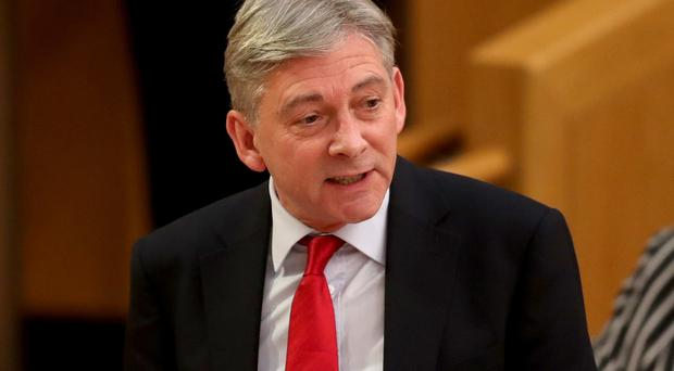 Scottish Labour leader Richard Leonard said there was a staffing crisis in the NHS in Scotland (Jane Barlow/PA)