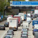 Among the roads targeted are the M25 (Steve Parsons/PA)