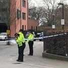 A teenager was found fatally stabbed outside a block of flats in west London (Aine Fox/PA)