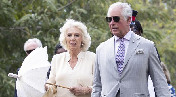 The Prince of Wales and the Duchess of Cornwall (Jane Barlow/PA)