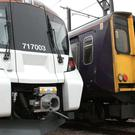 Great Northern's old and new trains side by side (Govia Thameslink Railway/PA)