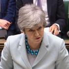 Theresa May makes a statement on Brexit to the House of Commons (House of Commons/PA)