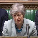 Prime Minister Theresa May makes a statement on Brexit to the House of Commons, London.