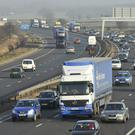 Motorway traffic (Ben Birchall/PA)