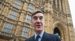 Jacob Rees-Mogg has warned of a concerted attempt to stop Brexit (Dominic Lipinski/PA)