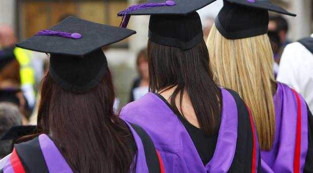White students outperform black students at all universities in England, new figures show (Chris Ison/PA)