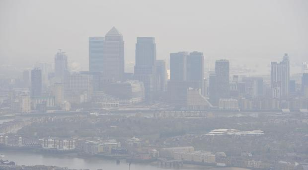 More than two million Londoners live in areas with toxic air, figures suggest (Nick Ansell/PA)