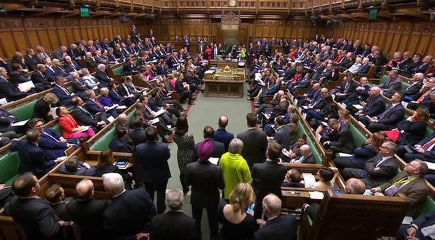 MPs rejected all four alternative options.
