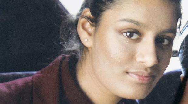 Shamima Begum was stripped of her British citizenship (PA)