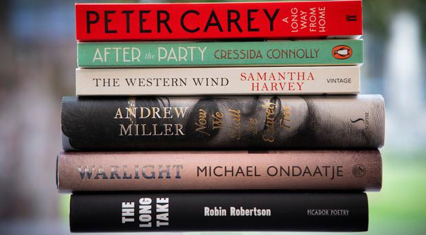 Six titles are in the running for the annual Walter Scott Prize (StonehillSalt PR/PA)