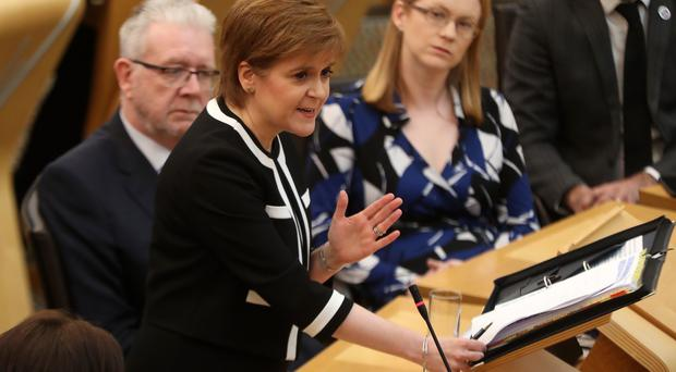 Nicola Sturgeon said the priority is dealing with Brexit (Andrew Milligan/PA)