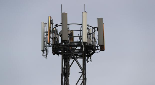 The government's target for 95% of the UK to have mobile coverage will not be met, MSPs heard (Andrew Matthews/PA)