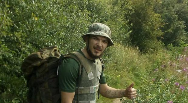 Aidan James is accused of helping fuel the violence in Syria by joining Kurdish militants fighting Islamic State (CPS/PA)