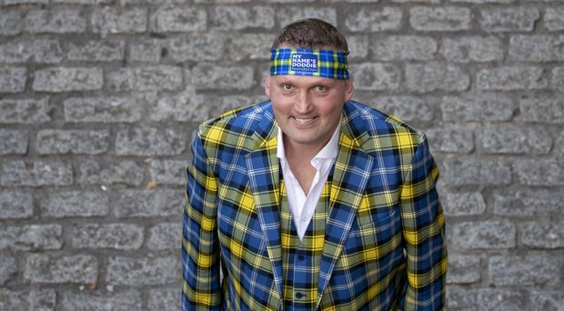 A portrait of Doddie Weir will be auctioned to raise money for the My Name'5 Doddie Foundation (Jane Barlow/PA)