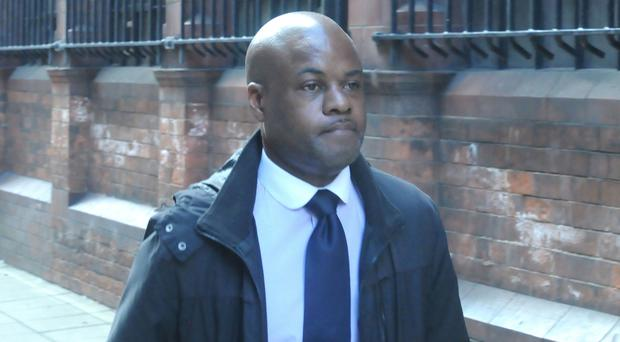 Police constable Colin Noble denies misconduct in a public office (Matthew Cooper/PA)