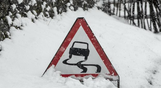 A severe weather warning for snow has been issued by the Met Office.