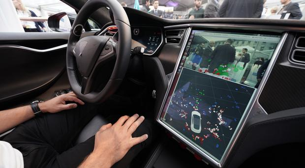 Driverless car trials have taken place in the UK (Yui Mok/PA)