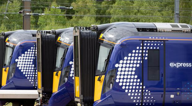 The number of refund claims made for delayed ScotRail services has risen sharply (Ross Brownlee/PA)
