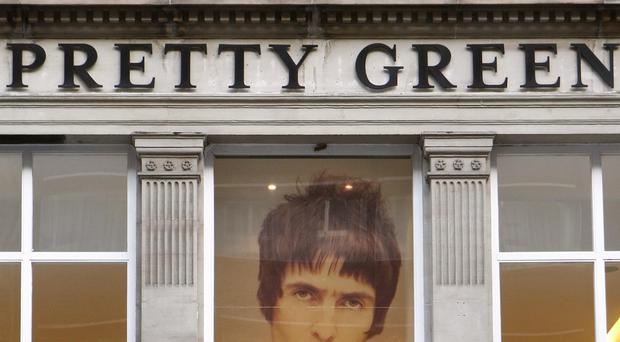 All but one of the Pretty Green stores are to close immediately (PA)