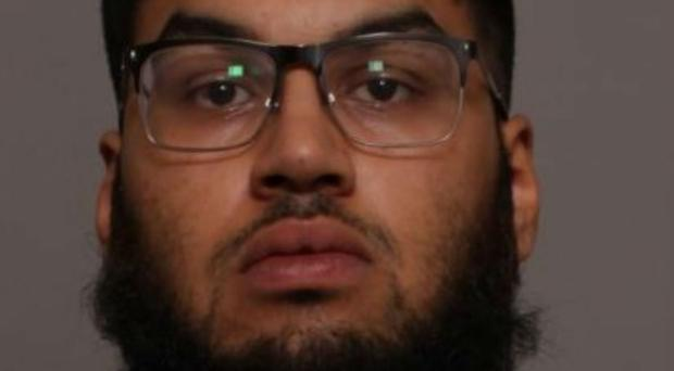 Yasin Adam drove his car at the officer (Leicestershire Police/PA)