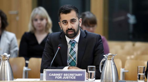 Humza Yousaf welcomed the report (Andrew Cowan/Scottish Parliament/PA)