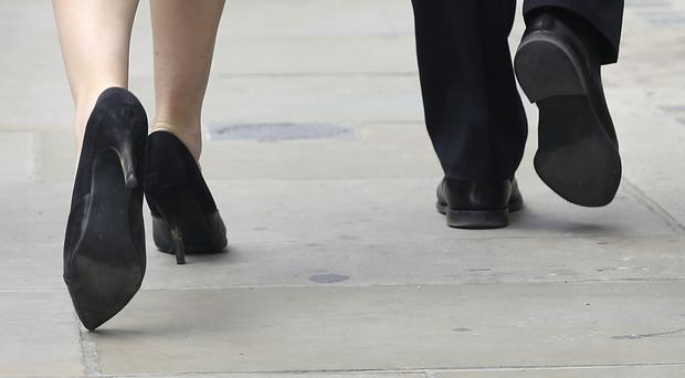 A significant proportion of employers have revealed an increase in their gender pay gap (Philip Toscano/PA)
