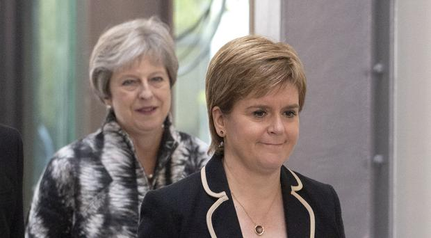 First Minister Nicola Sturgeon has criticised the Prime Minister's delay request (Jane Barlow/PA)