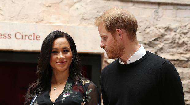 The Duke and Duchess of Sussex recently launched an Instagram account (Marc Giddings/The Sun/PA)