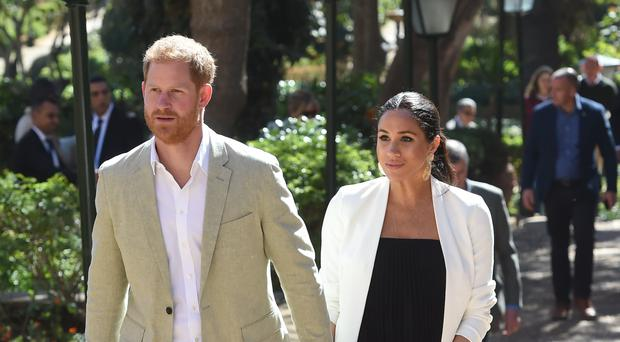 The Duke and Duchess of Sussex recently launched their Instagram account (PA)