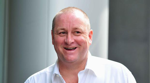 Mike Ashley is trying to take control of Debenhams (Nick Ansell/PA)