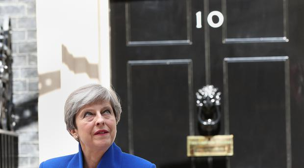 Theresa May marked 1,000 days as Prime Minister on April 8 2019 (Jonathan Brady/PA)