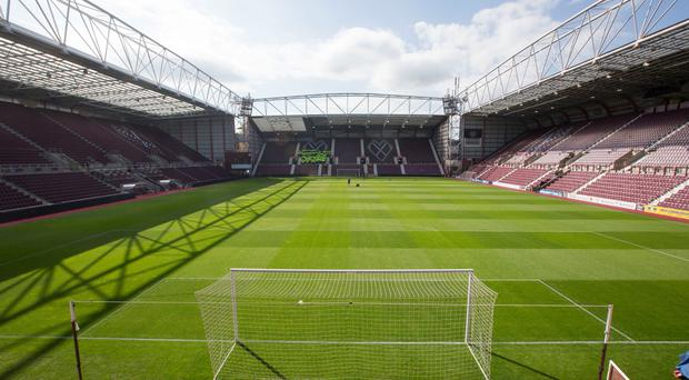 The arrests came after Hearts played Hibs at Tynecasle (Jeff Holmes/PA)