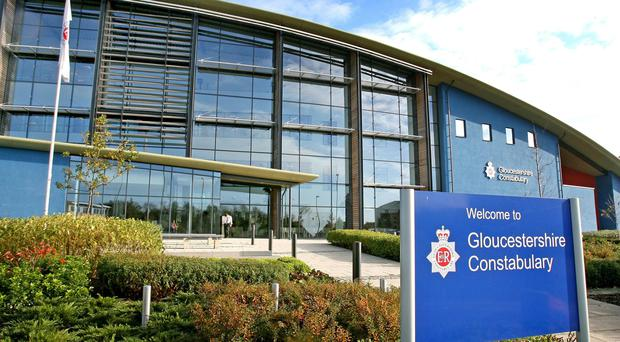General view of Gloucestershire Police Headquarters on Waterwells Drive, Quedgeley, Gloucester.