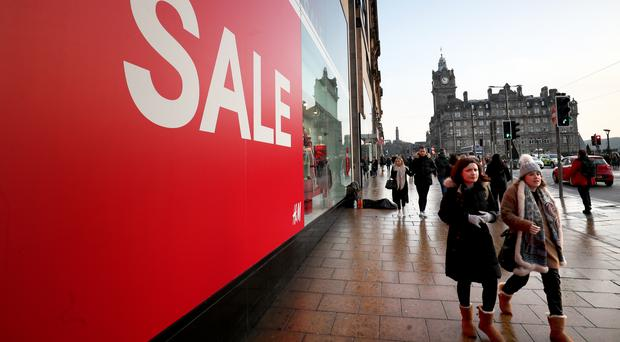 Christmas shopping shows physical stores still have an important part to play, says Lisa Hooker at PwC (Jane Barlow/PA)