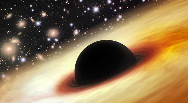 The images could change our understanding of physics (Artist's impression/Zhaoyu Li/Shanghai Astronomical/PA)