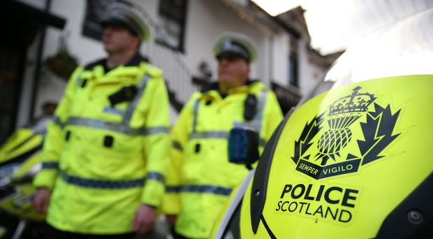 Police have appealed for witnesses after the crash in a remote area of the Highlands (Andrew Milligan/PA)