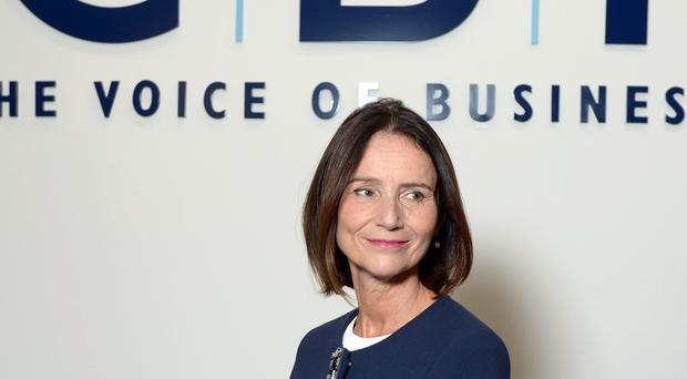 The CBI's Carolyn Fairbairn said the new extension means that an imminent economic crisis has been averted (PA)