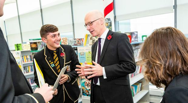 Deputy First Minister John Swinney is backing the new classroom resource (respectme/PA)