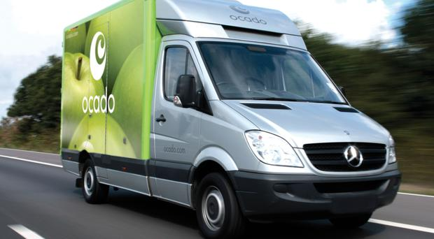 The growth of online grocery shopping has slowed, a survey reveals (Ocado/PA)