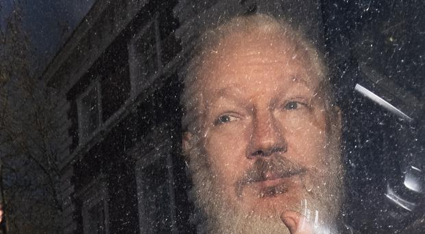 Julian Assange faces years in a US prison if he is extradited (Victoria Jones/PA)