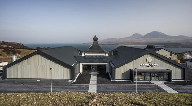 Ardnahoe Distillery expects to welcome 20,000 visitors a year (Konrad Borkowski/PA)