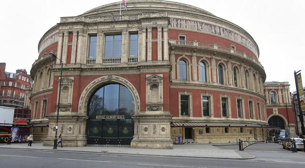 Lucy Noble, from the Royal Albert Hall, is highlighting a lack of access to music in schools (Philip Toscano/PA)