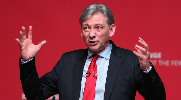 Scottish Labour leader Richard Leonard addressed the STUC conference in Dundee on Monday (Andrew Milligan/PA)