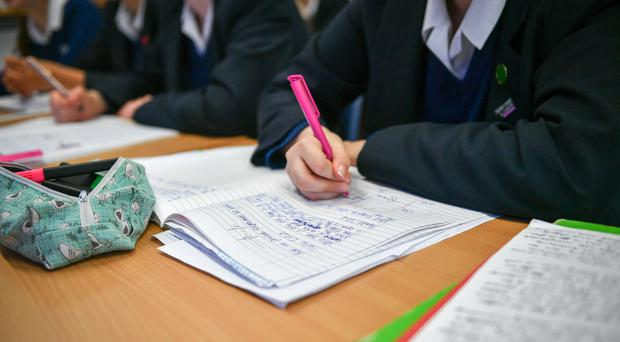 A total of £23 million was handed out in maintenances allowance for poorer pupils in 2017/18 (Ben Birchall/PA)