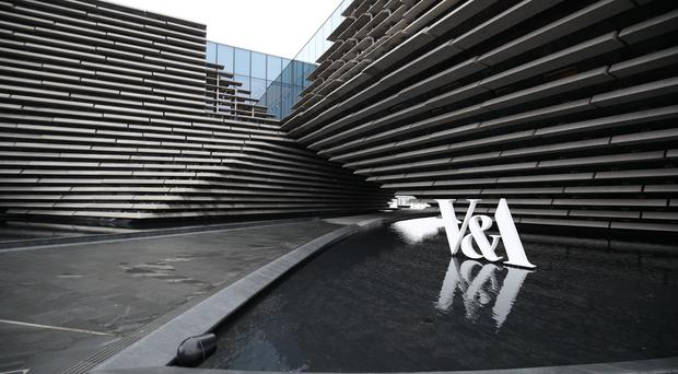 The VandA in Dundee opened in September last year (Jane Barlow/PA)