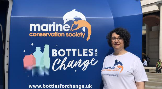 Sandy Luk, of the Marine Conservation Society, has written to UK supermarket bosses about the benefits of the scheme (PA)
