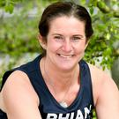 Rhian Mannings who lost her baby son and husband within days of each other is running the London Marathon to show others that they too can survive �if they don�t give up�.
