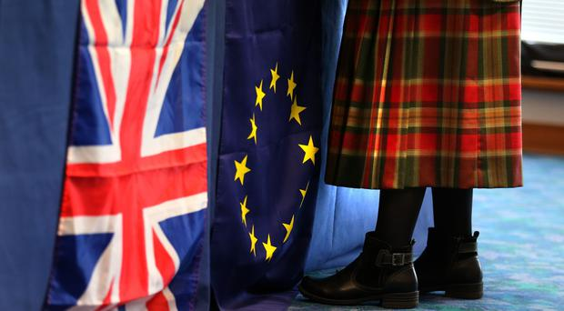 The study highlighted the concerns of Scots ahead of the UK's exit from the EU (Andrew Milligan/PA)