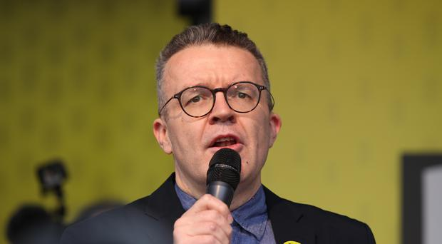 Mr Watson said his party could not look as if it half-agreed with Nigel Farage (Yui Mok/PA)